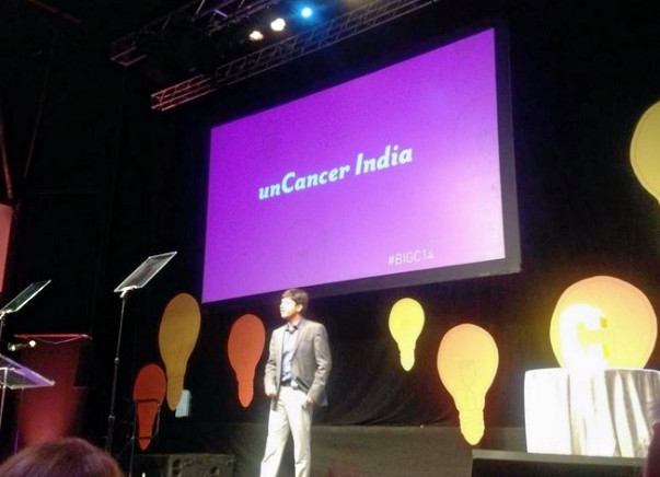Fundraising to help 1000 cancer patients through Uncancer India. Every support counts.