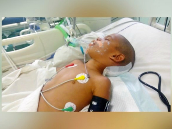 Save 5-Year-Old Jitender From Brain Clot