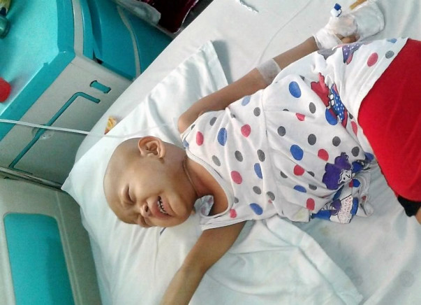 Help 2-Year-Old Poulomi Fight Against Cancer