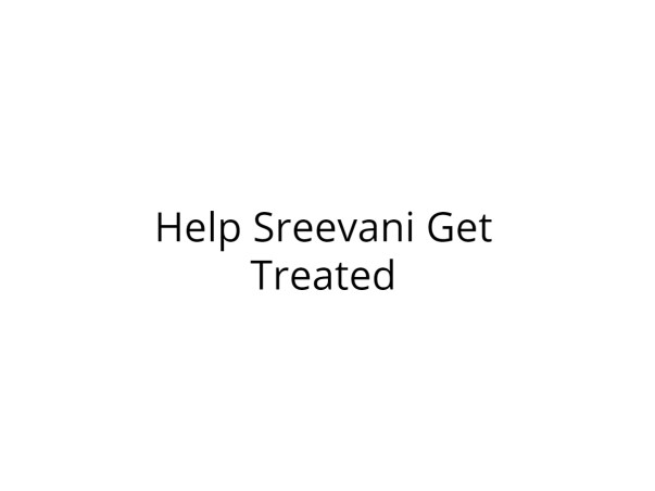 Help Srivani Get Treated For A Brain Problem