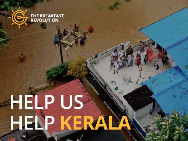 Relief for Kerala - The Breakfast Revolution initiative