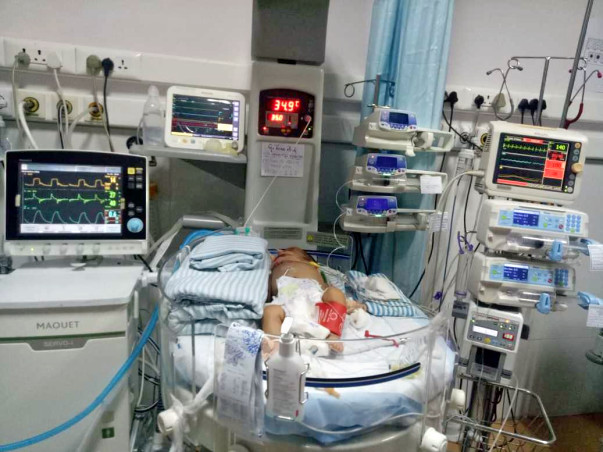 Help 2-Months-Old Baby Teena Recover From Severe Sepsis Hypotension