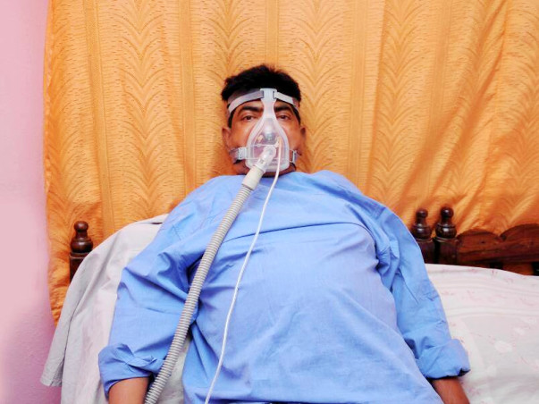 Help Ram Mohan fight a lung disease