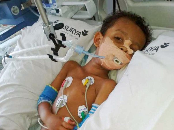 Help Shreyas Get Treated for Acute Flaccid Paralysis Due To Myelitis