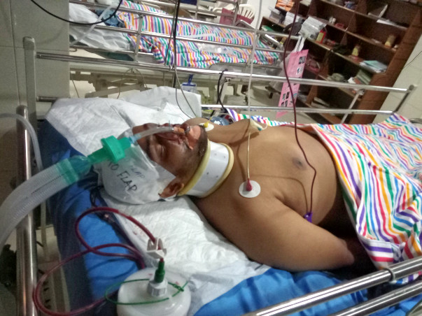 ACCIDENT HELP FOR ARUN