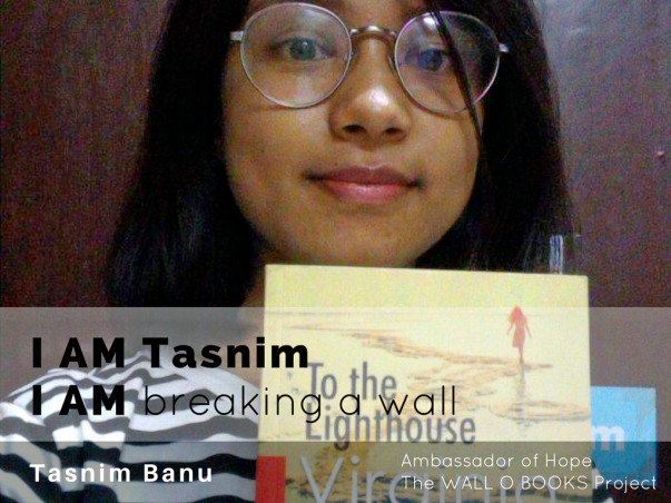 Join Tasnim to bring hope to 1 Million Kids in India