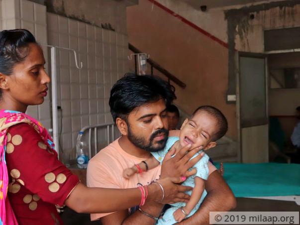 Help Akshana Recover From Ventricular Septal Defect