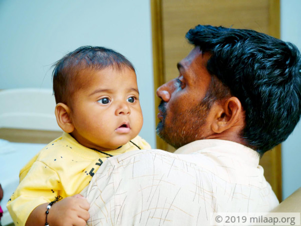 Help Prabhjot Fight Severe Combined Immunodeficiency