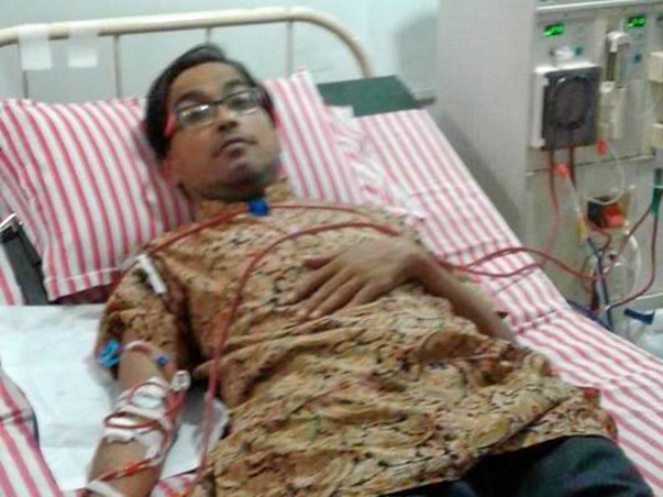 Help For Partha Sanyal Kidney Damage Patient
