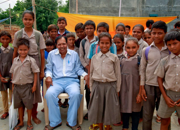 Help This 70-year-old Engineer Build A Roof For 490 Children