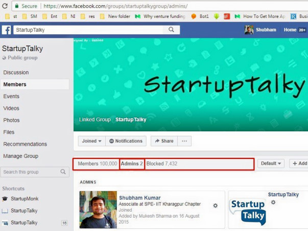 Building Curated Startup Community for India #StartupIndia