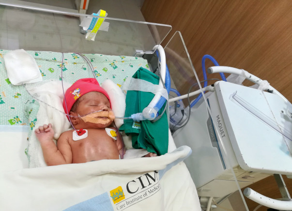 This 10-Day-old Baby was Separated From His Mother Minutes After Birth