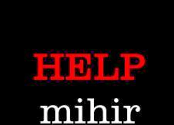 I am pledging my birthday to help Mihir