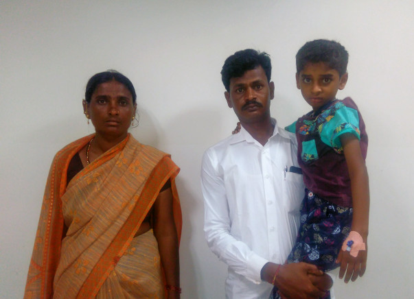 Help This Karnataka Farmer Save His 8-year-old Son From The Cancer