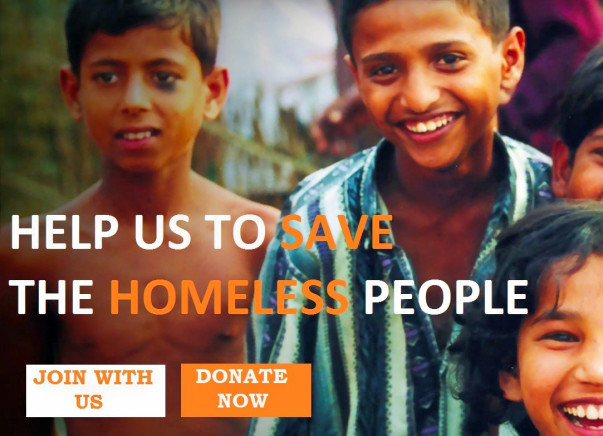 Help Us To Save The Homeless People