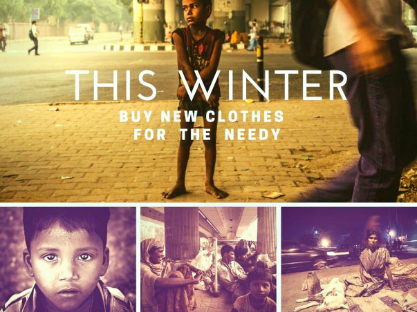 Help the Needy this Winter....