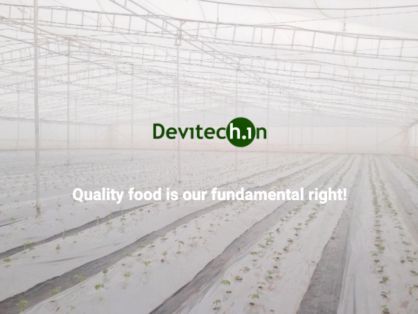 AI based Automated Hydroponic Farm at Chamrajnagar, KA, IND