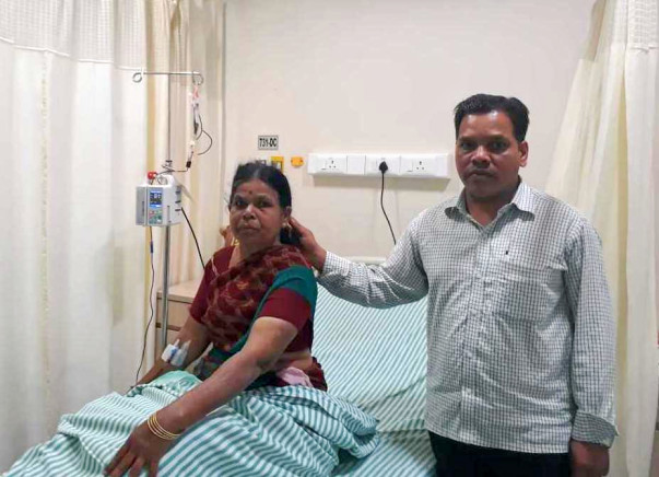 56-year-old Vipulakshi urgently needs a bone marrow transplant