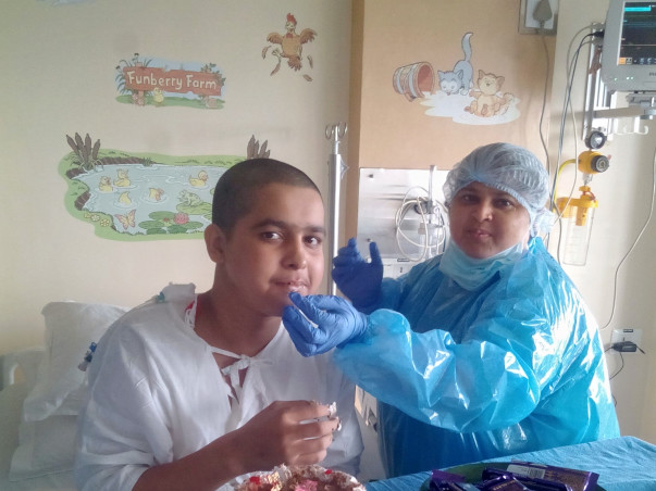 I am raising funds for 15 year old Akash who is fighting sever aplastic anemia