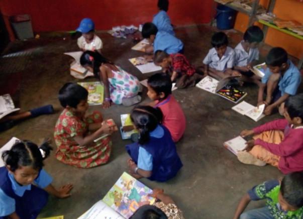 Nandi Hillathon: Educational Support for children, Malleshwaram