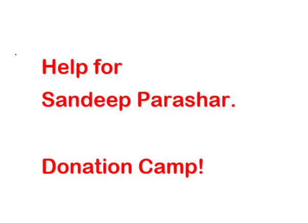 Help for Sandeep Parashar