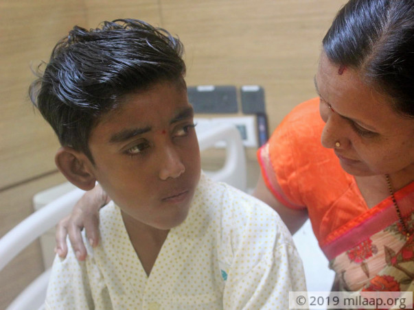 Manthan needs your help to undergo his treatment