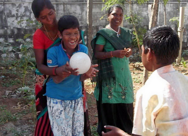 Rehabilitation to differently-abled rural children