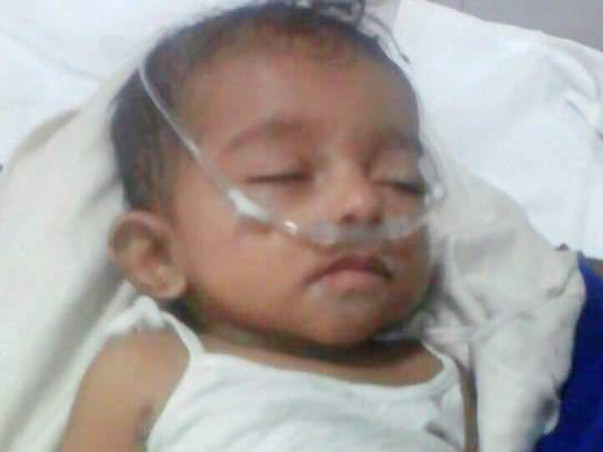 Save 6month Old Girl Pranavi From Leukemia