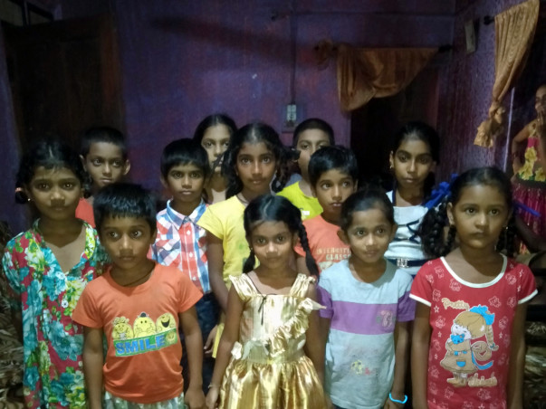 Help for education of villagers