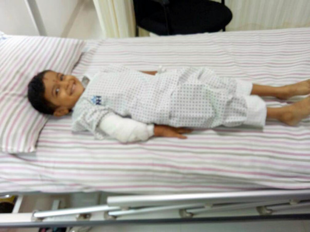 Help 3-year-old Pranav fight blood cancer
