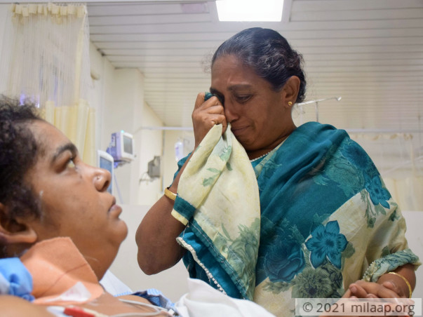 Mother Is Fighting Death Only To Live For Her Son