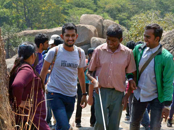 Community wants to take Visually Impaired for a trek