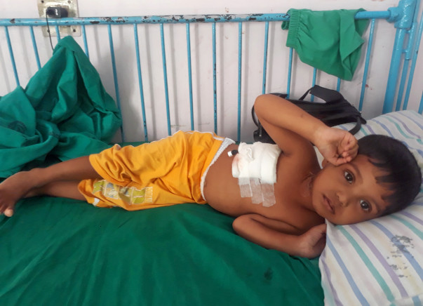 Help 2-Year-Old Abdur Fight Against Blood Cancer