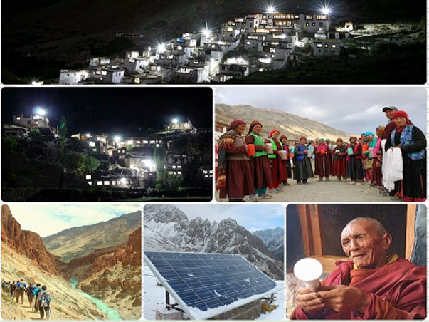 Join hands to light up remote Himalyan villages with Solar energy