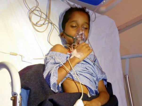 HELP MASTER KRANTHI TO GET EARLY SURGERY