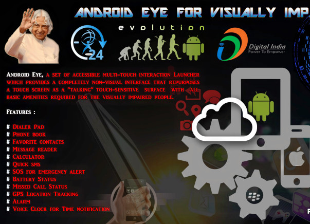 Help us to build 24Droid - cheapest smartphone for visually Impaired