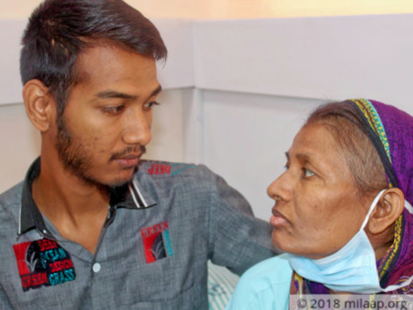 Help to Haseena Begum, Suffering from blood cancer