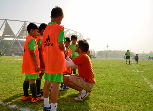 Help me teach talented underprivileged Footballers