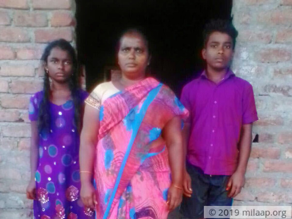 Help Padma Undergo Treatment For Cancer