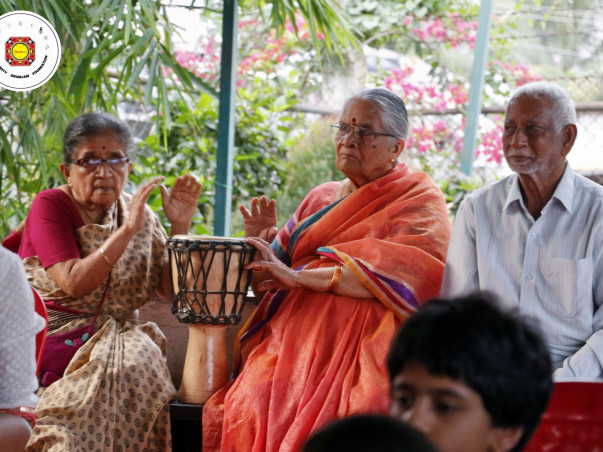 Beating the Blues at Old age Homes - Drum Jam Therapy