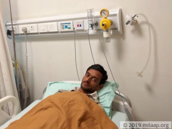 Help Vishal who needs an urgent liver transplant
