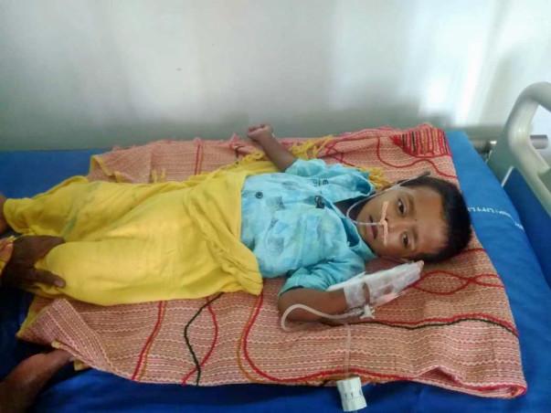 Help 2-year-old, Abhiram Battle Leukemia