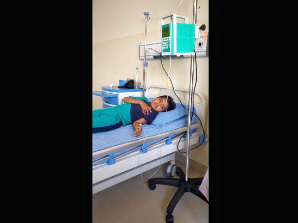 Help Baby Sandhya Fight Aplastic Anaemia