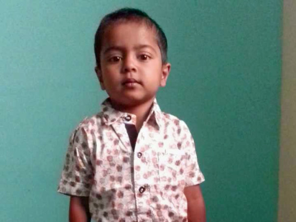 Help Baby Kalyan Fight hole In His Heart!