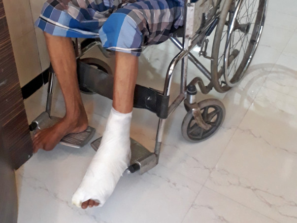 Help Firoz Get Back On His Legs