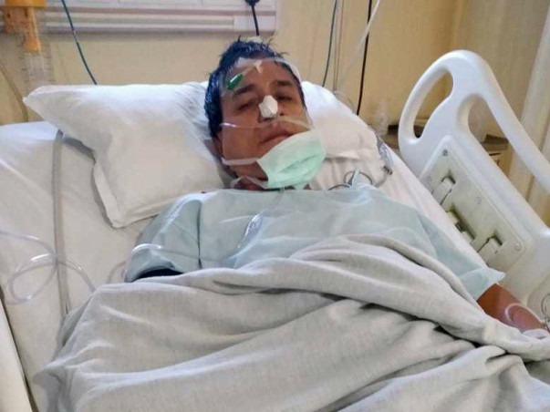 Support Anil Chandra Deka fight/recover from pressure stroke