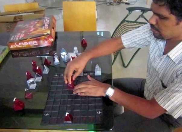 Help Mohammed Saliah to start his own chess academy!