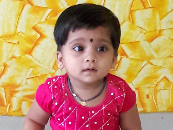 Help 3-Year-Old Baby Risha Get Open Heart Surgery