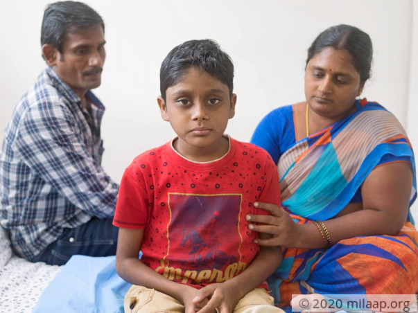 Manikanta needs an urgent liver transplant and needs your help