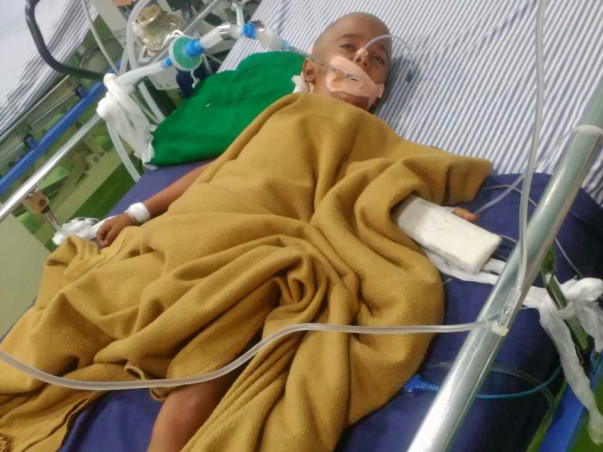Help Bhavesh Recover From Brain Tumour